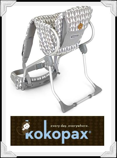 Kokopax carrier used by Selma Blair and Arthur Saint Bleick