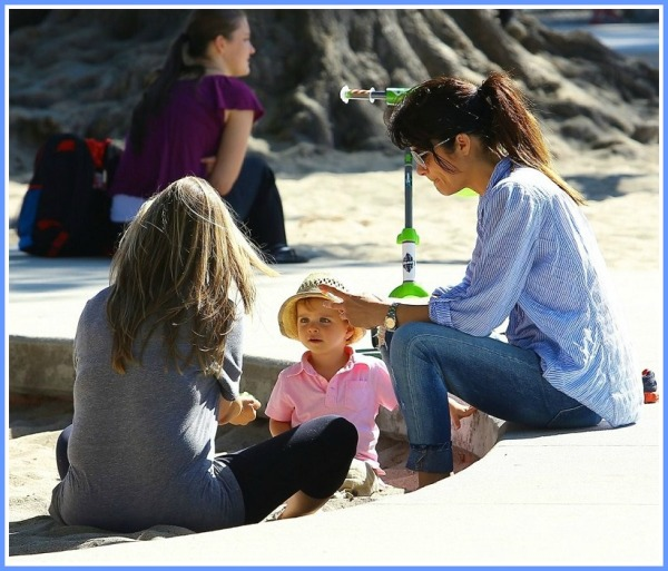 Selma Blair Spends Her Day With Baby Arthur 11