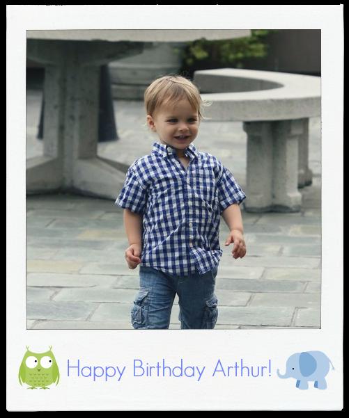 Happy Birthday Arthur Saint Bleick