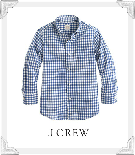 Crewcuts Secret Wash Gingham Shirt as seen on Arthur Saint Bleick